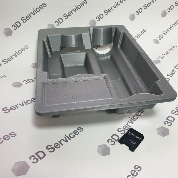 3Д печать ложементов для флаконов 2