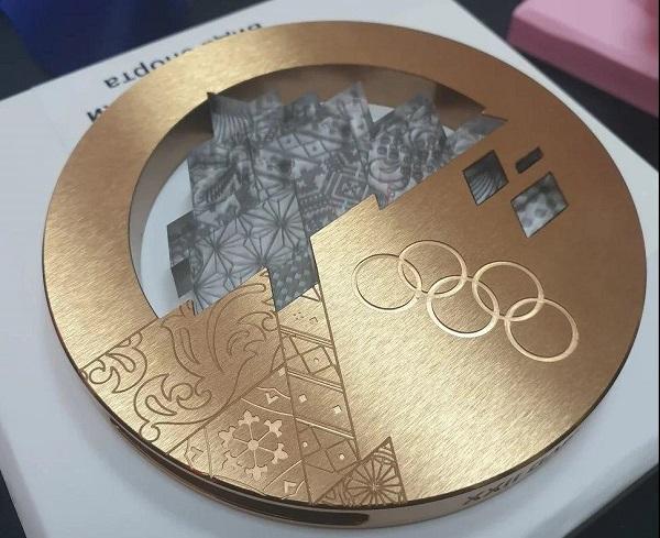 Фото 3D моделирование медали 1