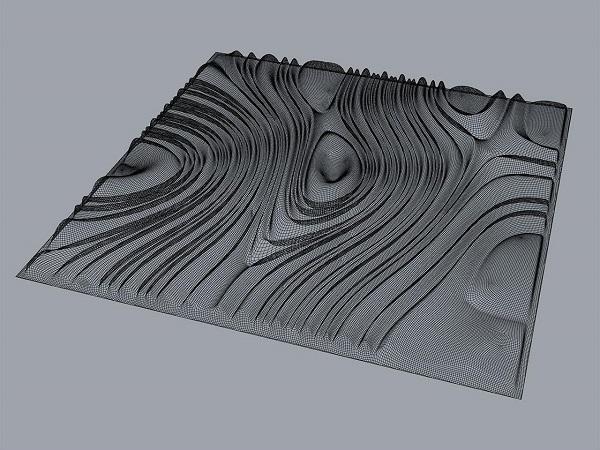 Фото 3D моделирования плитки