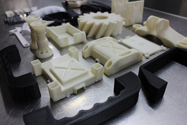 Фото 3D печати комплекта деталей