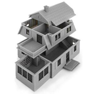 Фото 3д моделирование архитектура 1