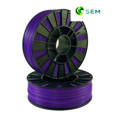 Фото ABS пластика SEM 1,75 мм фиолетовый