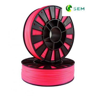 Фото ABS пластика SEM 1,75 мм флуоресцентный розовый