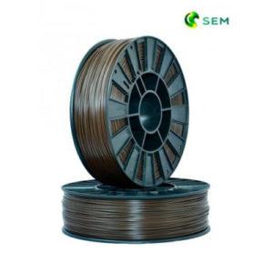 Фото ABS пластика SEM 1,75 мм коричневый
