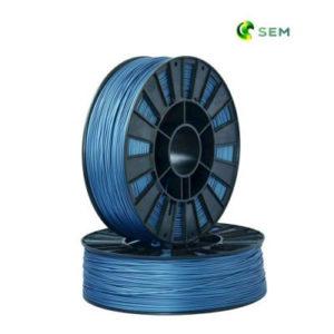 Фото ABS пластика SEM 1,75 мм металлик синий