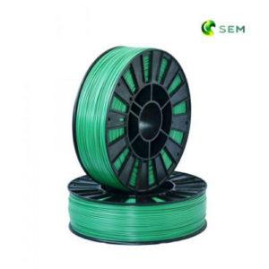 Фото ABS пластика SEM 1,75 мм металлик зелёный