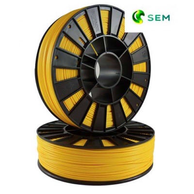 Фото ABS пластика SEM 1,75 мм жёлтый