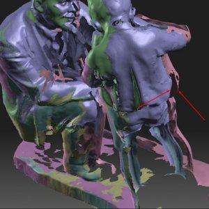 Фото 3д моделирование доработка 3д сканов 5