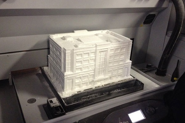 Фото 3D печати архитектурного макета