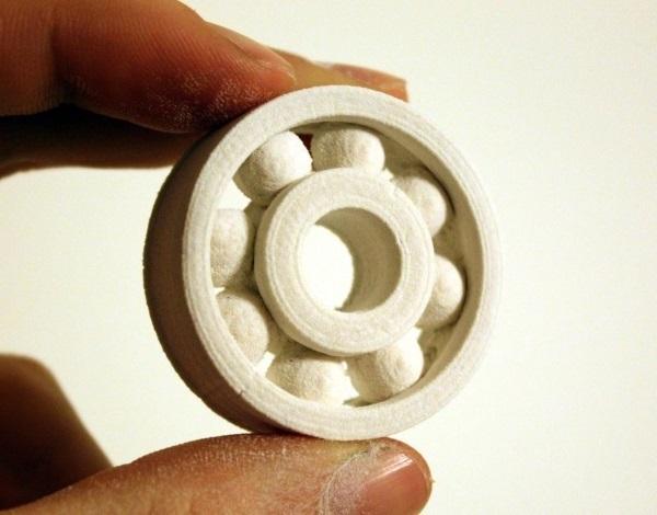 Фото 3D печати подшипника