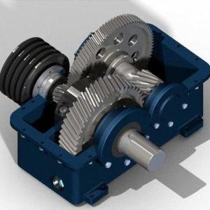 Фото 3D печати корпуса для механизма