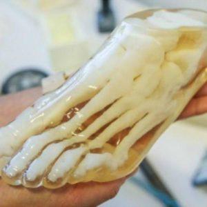 Фото 3D печати модели стопы