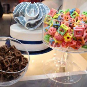 Фото 3D печати сладостей