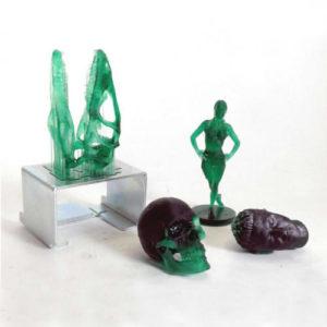 Фото 3D печати изделий из фотополимера