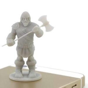 Фото 3D печати статуэтки война