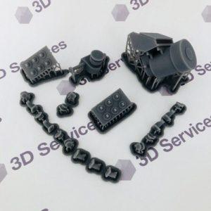 Фото печать на 3д принтер полимером formlabs 3d services 5