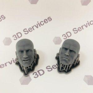 Фото печать на 3д принтер полимером formlabs 3d services 6