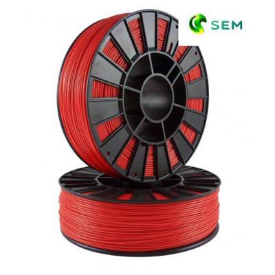 Фото PLA пластика SEM 1,75 мм красный