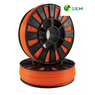Фото PLA пластика SEM 1,75 мм оранжевый