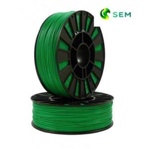 Фото PLA пластика SEM 1,75 мм зелёный