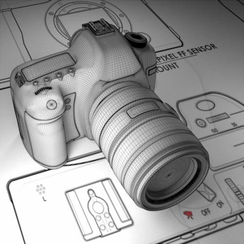 3D моделирование фотокамеры