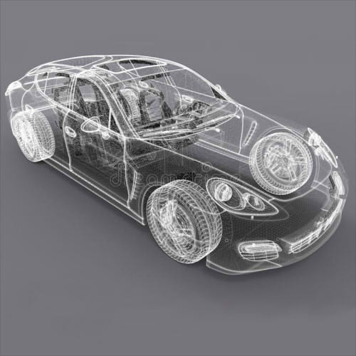 3D моделирование авто