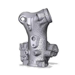 Фото 3D моделирования автозапчасти