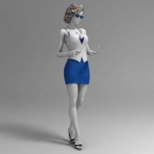 Фото 3D моделирование манекена 2