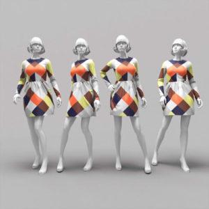 фото 3D моделирования манекенов