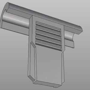 Фото 3D моделирования вентиляции