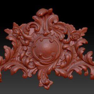 Фото 3D моделирования лепнины