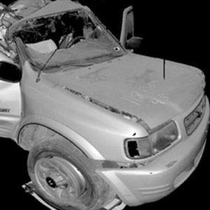 Фото 3D сканирования авто
