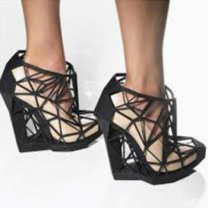 Фото 3D сканирования туфлей