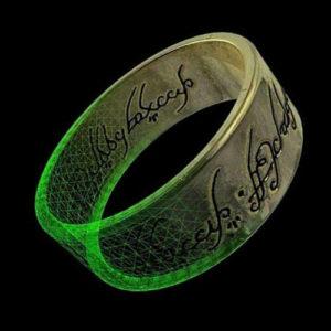 Фото 3D сканирования кольца LOTR