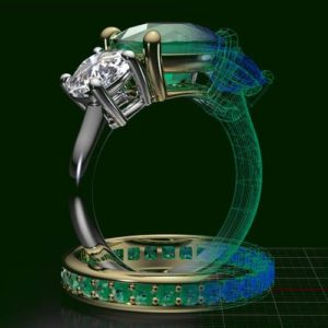 Фото 3D сканирования кольца
