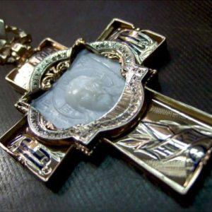 Фото 3D сканирования креста