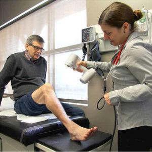 Фото 3D сканирования ноги