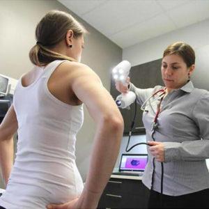 Фото 3D сканирования пациента