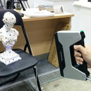 Фото 3D сканирования статуэтки