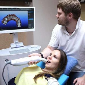 Фото 3D сканирования зубов