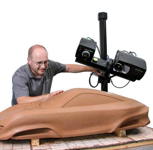 3D сканирование прототипа авто