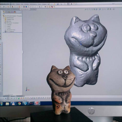 3D сканирование игрушки