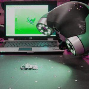 Фото 3D сканирования элемента заколки