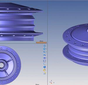 Фото Сканирование в машиностроении 3d services 5