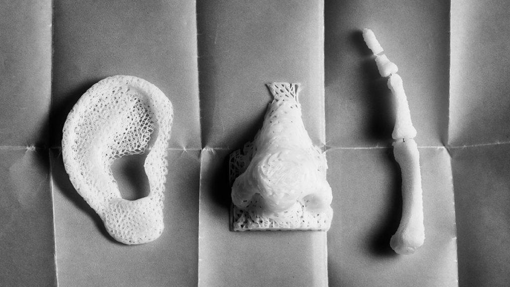 Баннер 3Д печать изделий для медицины