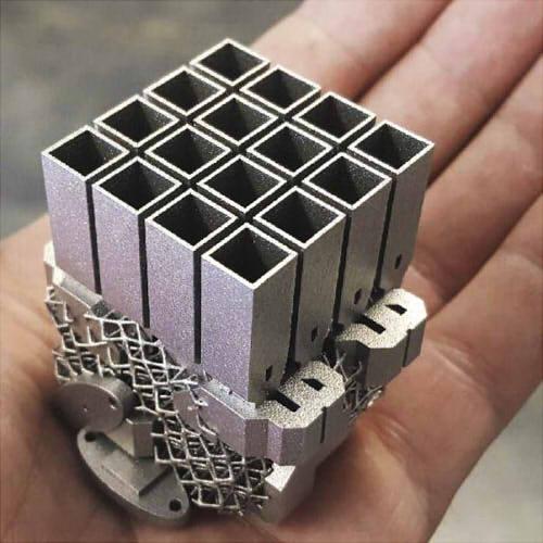 Фото 3д печати детали из металла
