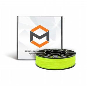 Фото ABS пластика 3DMall 1,75 мм флуоресцентного лимонного
