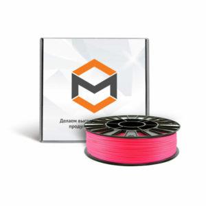 Фото ABS пластика 3DMall 1,75 мм флуоресцентного розового