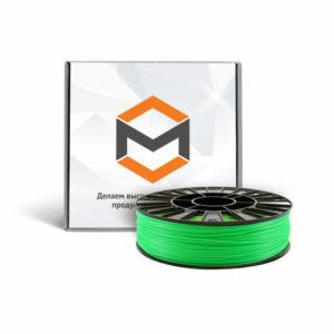 Фото ABS пластика 3DMall 1,75 мм флуоресцентного зеленого