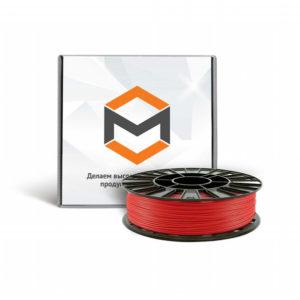 Фото ABS пластика 3DMall 1,75 мм красного